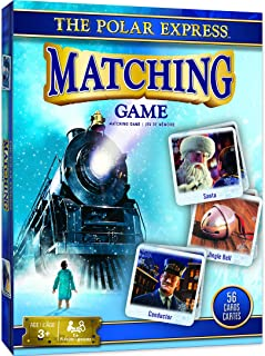 MasterPieces The Polar Express Matching Game, Includes 56 Cards, 1 or More Players, for Ages 3+