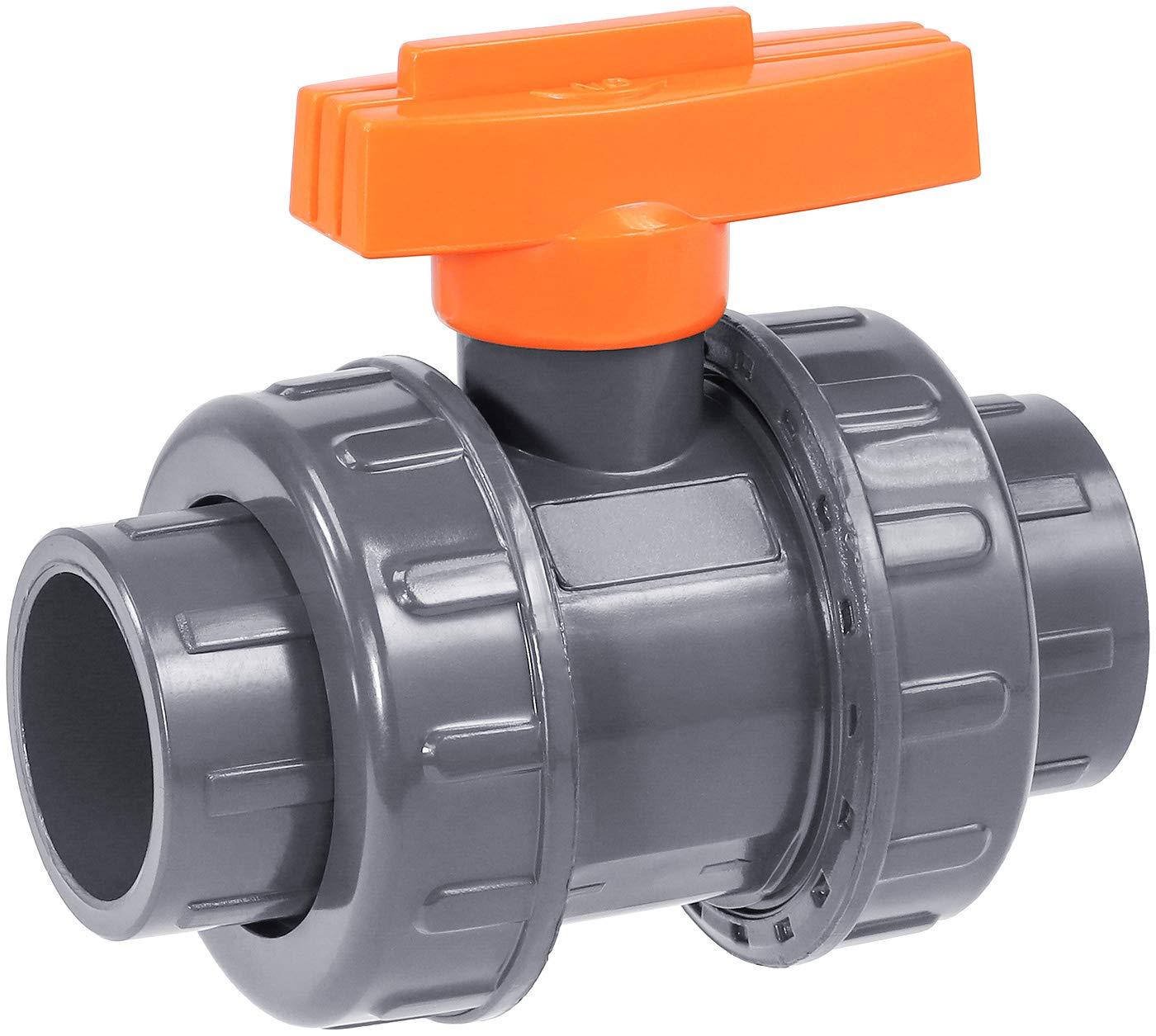 IrrigationKing RKBV1O Double Union PVC Weld Valve Sale SALE% OFF Sales Ball 1