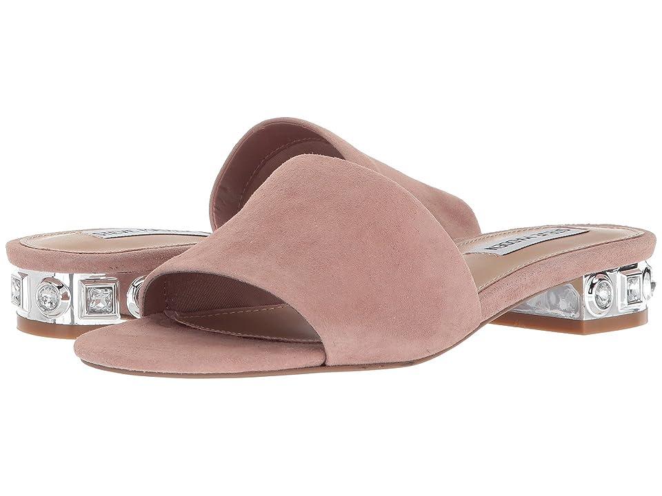 Steve Madden Costa Slide Sandal (Mauve Suede) Women
