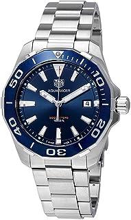 Reloj TAG Heuer Aquaracer, para hombres, de carcasa azul, WAY111C.BA0928