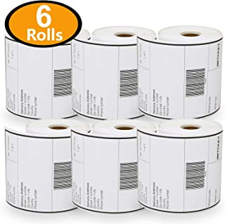6 Rolls Dymo 1744907 Compatible 4XL Internet Postage Extra-Large 4