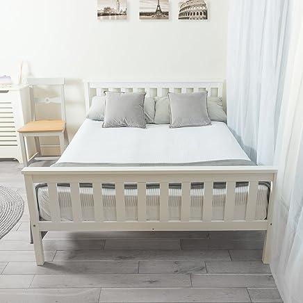 Prime Amazon Co Uk White Beds Frames Bases Bedroom Home Interior And Landscaping Ponolsignezvosmurscom