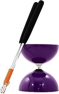 Juggle Dream Palos de Control en Fibra de Vidrio Color Naranja DIA-066//ORA