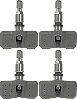 Four Tire Pressure Monitoring System (TPMS) Sensor Dorman 974-049