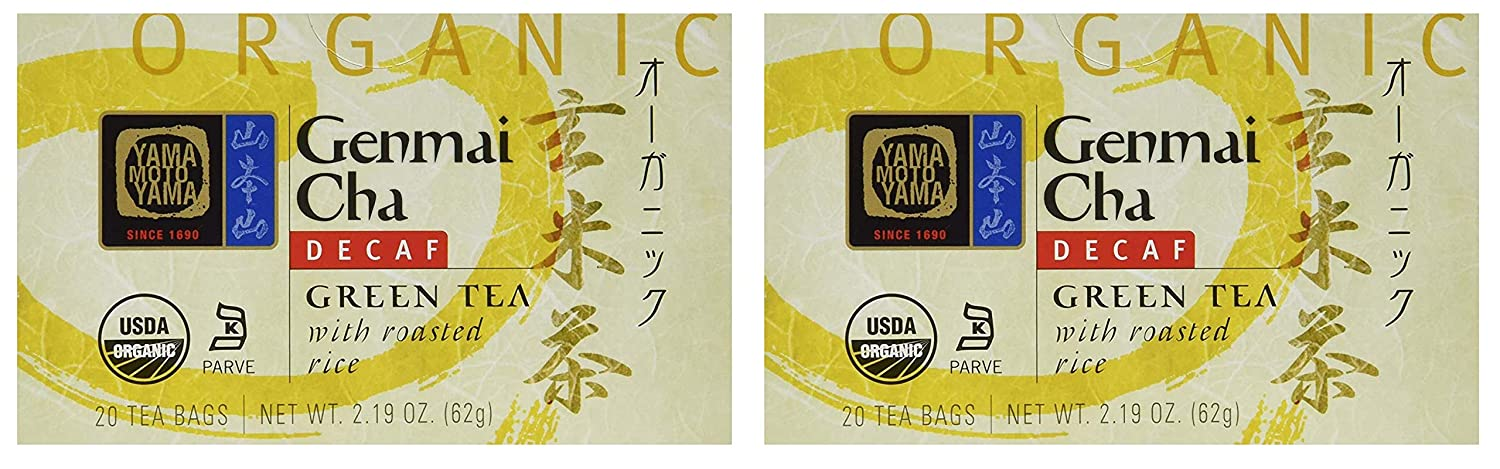 Limited time for free shipping Yamamotoyama DECAF Green Tea With Pack Cheap mail order specialty store Brown Rice Two Roasted