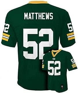 Clay Matthews Green Bay Packers Green NFL Infants 2016-17 Season Mid-tier Jersey (Infants 18 Months)