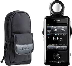 Sekonic LiteMaster Pro L-478D-U Light Meter With Exclusive 3-Year Warranty + Sekonic Deluxe Case for L-478-series meters