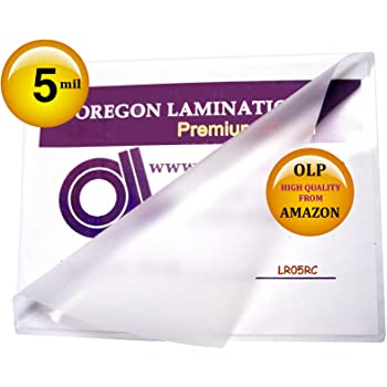 Letter Laminating Pouches 5 Mil 9 x 11-1/2 Hot Qty 100