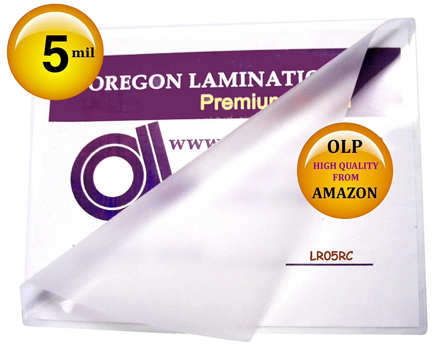 回想ピース恋人Letter Laminating Pouches 5 Mil 9 x 11-1/2 Hot Qty 100 by Oregon Laminations Premium