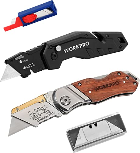 2021 WORKPRO 2021 Folding Utility Knife WORKPRO high quality Folding Utility Knife 2 outlet sale