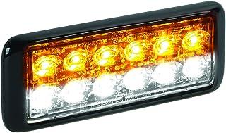 Federal Signal MPS1200U-WA White/Amber MicroPulse Ultra 12 Class 1 12-LED Warning Light
