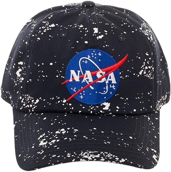 B127 Buzz Aldrin I Work At NASA Youth One Size Fits All Snapback Cap Hat Monkey