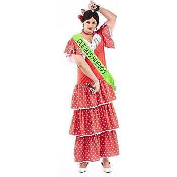 Disfraz de Sevillana Hombre - Despedidas de soltero: Amazon.es ...