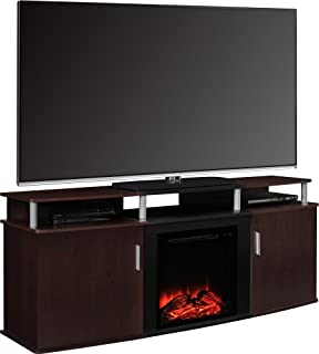 Best 70 tv console with fireplace Reviews