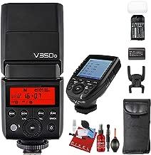 Godox TT350 2.4G HSS 1/8000s TTL GN36 Camera Flash Speedlite for Nikon Cameras + Godox XProN TTL Wireless Flash Trigger for Nikon Cameras + Complete Camera Cleaning Kit