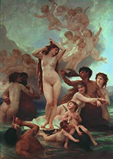 Berkin Arts William Adolphe Bouguereau Giclee Art Paper Print Art Works Paintings Poster Reproduction(Birth of Venus)