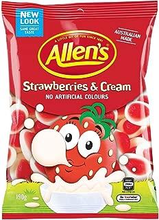 Allen's Strawberries & Cream 190g