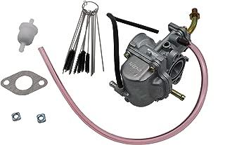 KIPA Carburetor For Yamaha TTR 90 TTR90 2001-2004 TTR90E TTR 90E 2003-2005, Replace OE Part Number 5HN-14101-01-00, With Gasket Fuel Filter & Carbon Dirt Jet Cleaner Tool Kit