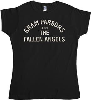 Womens Gram Parsons and The Fallen Angels T Shirt - 8Ball Originals Tees