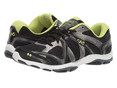Ryka Influence (Black/Sharp Green/Forge Grey/Met Iron Grey) Women