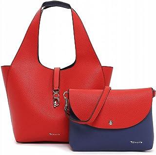 Tamaris Shopper Cordula 31130 Damen Handtaschen Zweifarbig