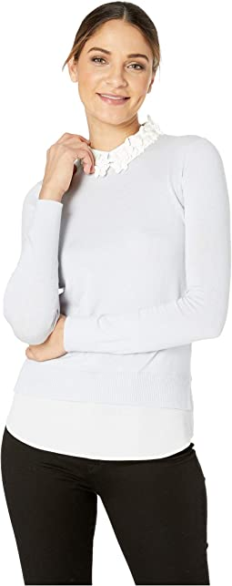 Stevie Collar Detail Sweater