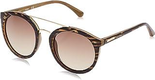 GUESS Unisex Adults' GU 62F 52 Sunglasses, Brown (Corno Marrone Grad)