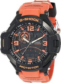 Casio Men's Multi Color Dial Silicone Band Watch - GA-1000-4ADR
