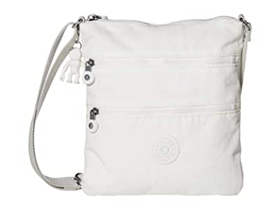 Kipling Keiko Crossbody (Alabaster) Cross Body Handbags