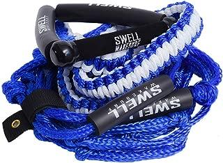 SWELL Wakesurf 25' Premium Braided Rope with 10