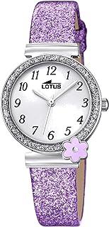 Lotus Quartz Montre avec Bracelet en Cuir 18625/4