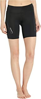 Craft Sportswear Women's Essential Running and Training Fitness Workout Wide Waistband with Zippered Pocket Short Tights