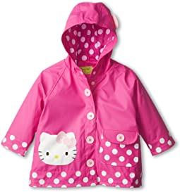 Western Chief Kids Hello Kitty Cutie Dot Raincoat (Toddler/Little Kids/Big Kids)