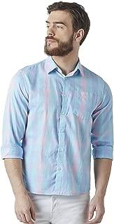 Crimsoune Club Blue Check Men's Shirt