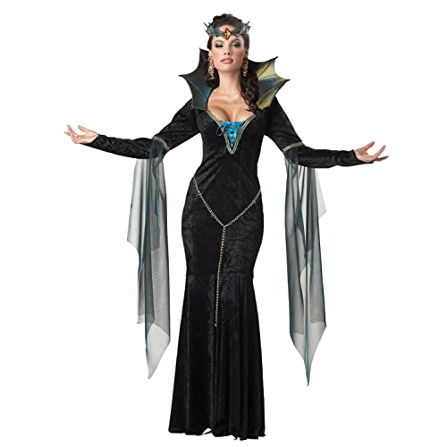 Evil Queen Costume Adult Once Upon A Time Halloween Fancy Dress