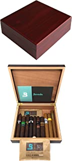 The Chateau 20 Cigar Humidor with Boveda Humidity Control Kit