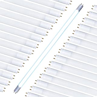 T8 T10 T12 LED 2FT Tube Light (30 Pack) Type A & B Tube Works with or Without Ballast, Single or Double Ended Powered; 8W=25W Equiv; 1000 LMS (Daylight 500K) Fluorescent Replacement Tube