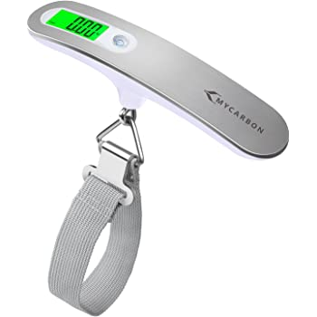 Mini LCD Digital Electronic Suitcase Scale Hanging Scales Support Max Load 50Kg Portable Luggage Weight Scale for Travel. Luggage Scale