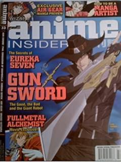 Anime Insider #33 (Eureka Seven, Gunsword, Fullmetal Alchemist)