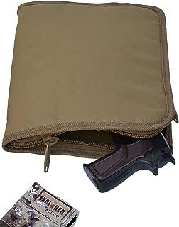 Explorer TC11 Mossy Oak with Pink Trim Pistol Soft Case, Handgun Soft Case , 9mm ruger glock Pistol Case, Carry Case, Revolver Case