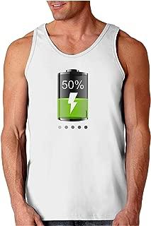 Half Energy 50 Percent Loose Tank Top