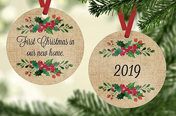Christmas Ornament First Christmas In Our New Home 2019