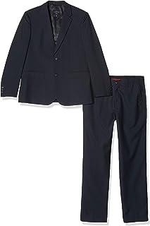 Traje azul marino para ni/ños traje de ni/ños para bodas tallas de 3 traje para paje de boda para baile de fin de curso Romario 6 meses a 14 a/ños