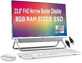 "Flagship Dell Inspiron 24 5000 All in one Desktop Computer 23.8"" FHD Narrow Border Display 10th Gen Intel Core i3-10110U 8..."