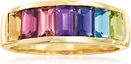 Ross-Simons 2.20 ct. t.w. Multi-Stone Ring in 14kt Yellow Gold