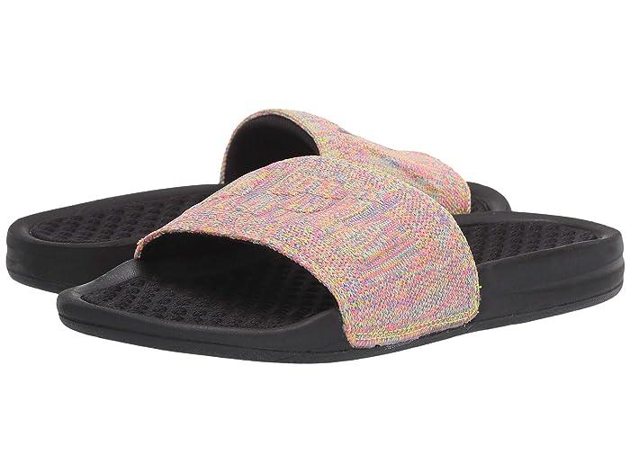 Athletic Propulsion Labs (APL)  Big Logo Techloom Slide (Multi/Black) Womens Slide Shoes