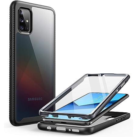 Clayco Coque Samsung Galaxy A51 [Version 4G] [6,5 Pouces] Protection Intégrale Transparente [Série MYOS] Bumper Antichoc Protecteur d'écran Intégré ...