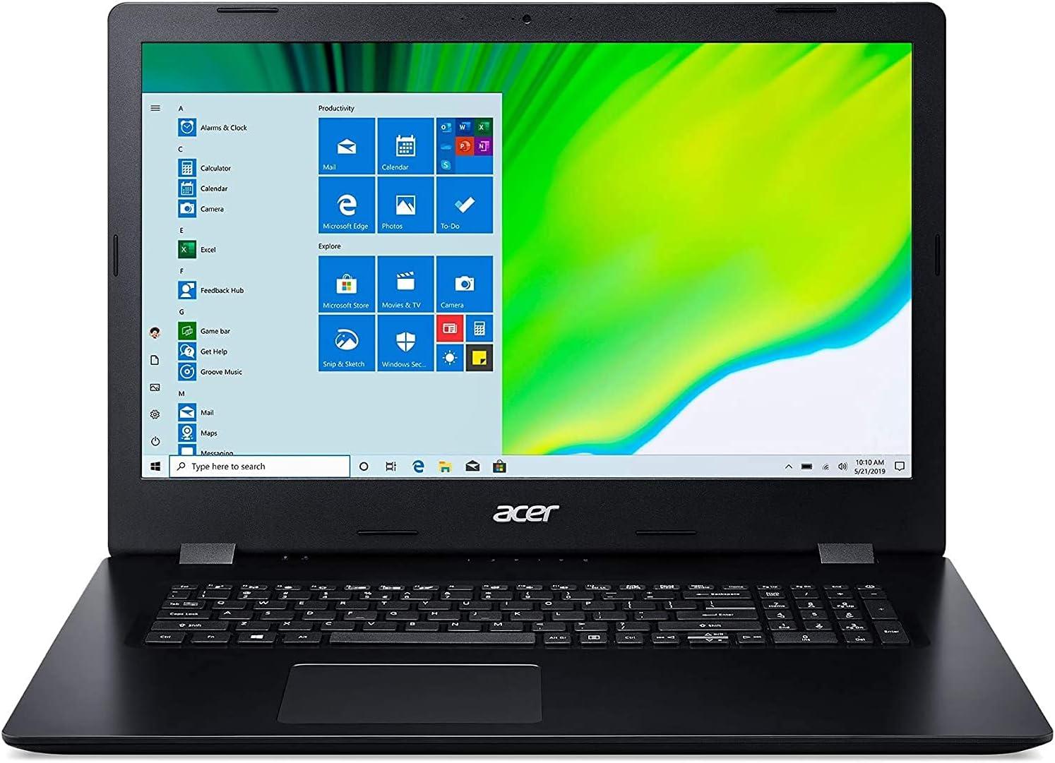 Acer Aspire 3 Intel Core i5-1035G1 8GB 1TB HDD + 512GB SSD 17.3-Inch HD+ (1600 x 900) Windows 10 Laptop, HDMI, DVDRW, Wi-Fi, Bluetooth, TWE Cloth
