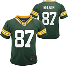 OuterStuff Jordy Nelson Green Bay Packers Baby Green Name and Number Jersey - 24 Months