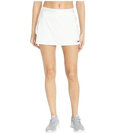Nike Court Dry Skirt Stretch (White/Black/Black/White) Women